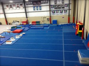 Legacy All Sports Main Gym Tumbling Area