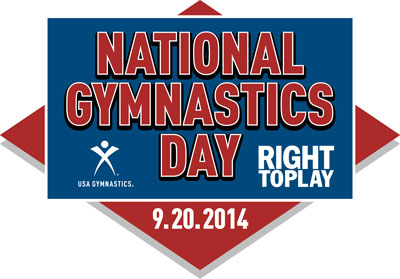 National Gymnastics Day 2014