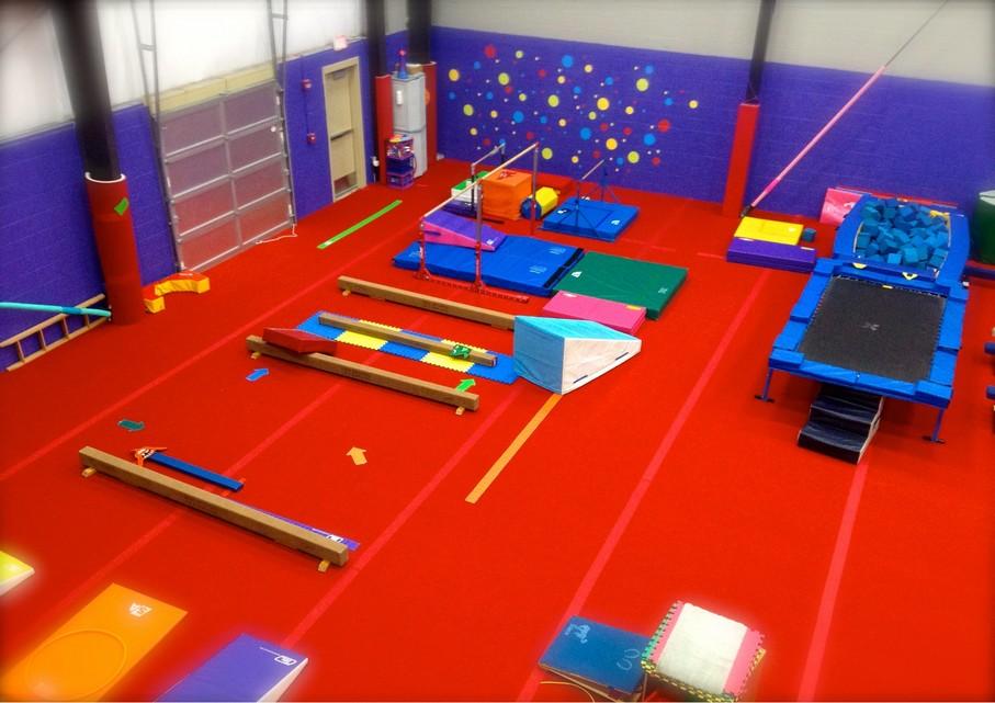 Legacy All Sports Red Gym Preschool Gymnastics