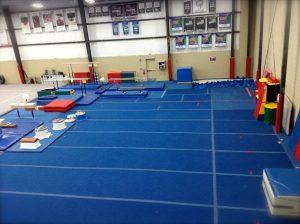 Legacy All Sports Main Gym Tumbling Area