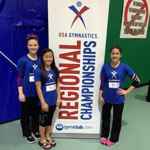 USA Gymnastics Girls